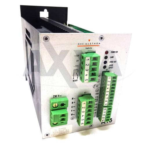 RTS DC Servo Drive RTS13130102R Parvex Gec Alsthom 2750 RS430H 10V 3000TR *New*