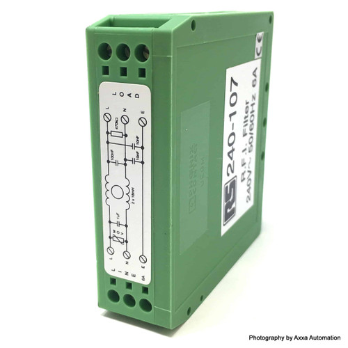 RFI Filter 240-107 RS DRF06 240107