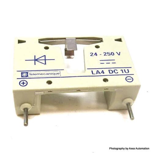 Coil Suppressor Module LA4DC1U Telemecanique 24-250VDC LA4-DC1U