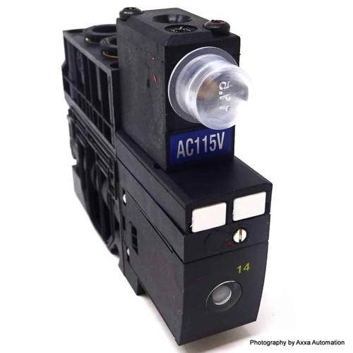 5/2 Control Valve 57800113 Joucomatic ASCO 115VAC 0.9/3-8bar