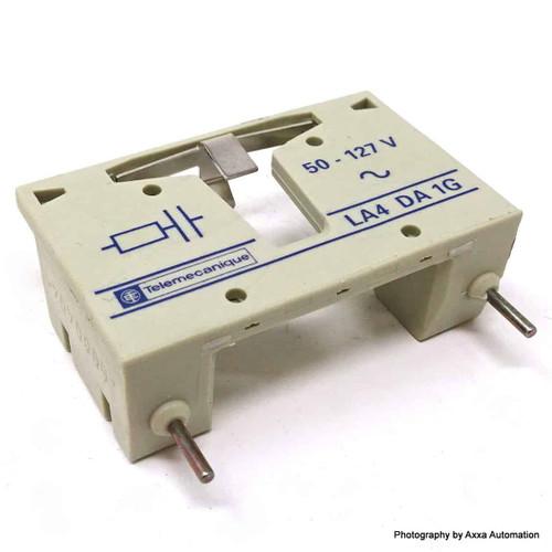 Surge Suppressor LA4-DA1G Telemecanique 50-127VAC 023301 LA4DA1G