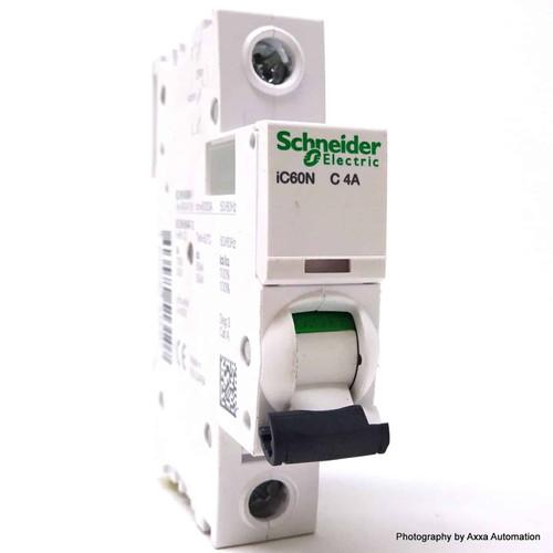1P Circuit Breaker A9F44104 Schneider Merlin 4A C-curve iC60N *New*