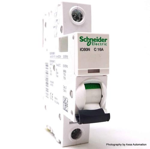1P Circuit Breaker A9F44116 Schneider Merlin 16A C-curve iC60N *New*