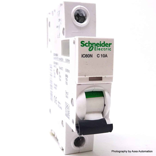 1P Circuit Breaker A9F44110 Schneider Merlin 10A C-curve iC60N *New*