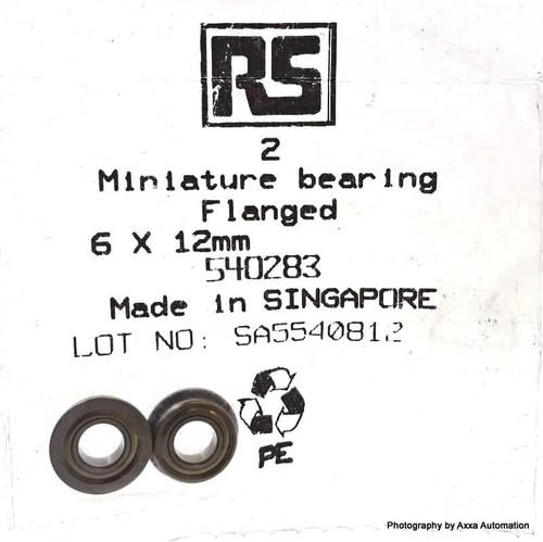 Ball Bearing 540283 NMB RS 6mm DDLF-1260ZZP24LY121 540-283