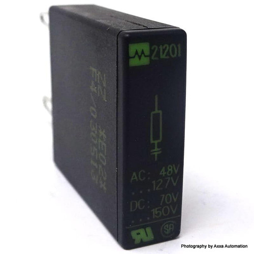 Surge Suppressor 21201 Murr Elektronik Siemens 48-127VAC 70-150VDC *New*