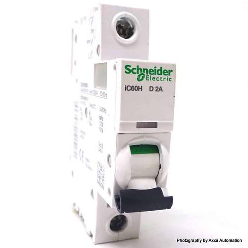 1P Circuit Breaker A9F55102 Schneider Merlin 2A D-curve iC60H *New*