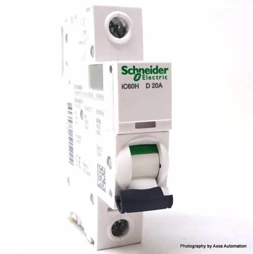 1P Circuit Breaker A9F55120 Schneider Merlin 20A D-curve iC60H *New*
