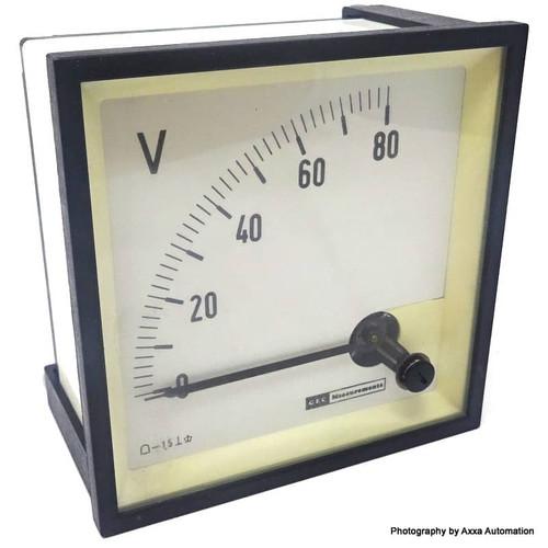 Voltmeter 0-80V Gec Measurement *New*