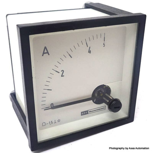 Ammeter 0-5A Gec Measurement *New*