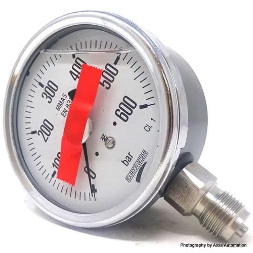 Pressure Gauge MMA5-EN837 Bourdon Sedeme 0-600bar
