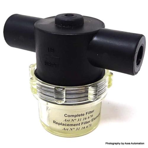 Vacuum Pump Filter 3116670 PIAB 31.16.670 *New*