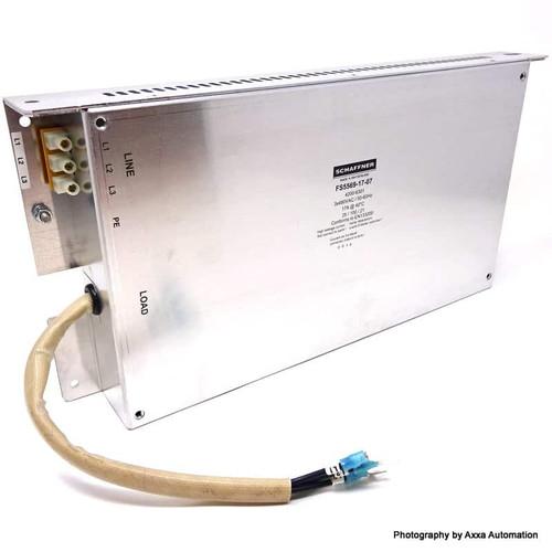 RFI Line Filter FS5569-17-07 Schaffner 17AMP 3x480VAC 50/60Hz FS55691707