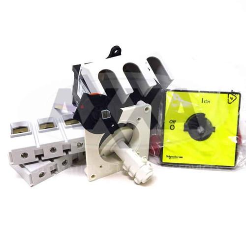 3 Pole Load Break Switch Kit VCCF5 125A 45kW Schneider VC-CF5