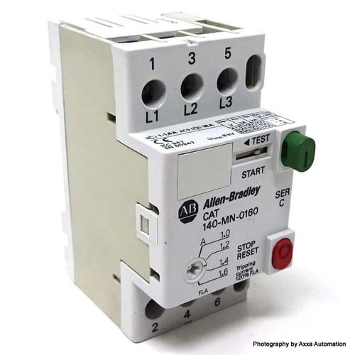 Circuit Breaker 140-MN-0160 Allen Bradley 1.0-1.6A 140-MN-0160 *Used*