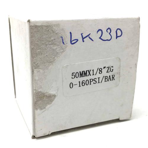 """Pressure Gauge 996K23D Axxa 0-160PSI 1/8"""""""