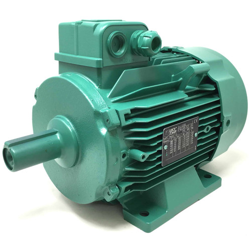 3Ph AC Motor LS100L Leroy-Somer, 1.1kW, 230/400VAC, 8-Pole 8P 670rpm, Foot mount (IMV6) 2277344