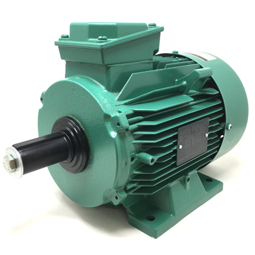 3Ph AC Motor LS100L Leroy-Somer Searle, 0.31kW, 400VAC, 12-Pole, 350/455rpm, B3 foot mount, 211.310.312.90 PTO
