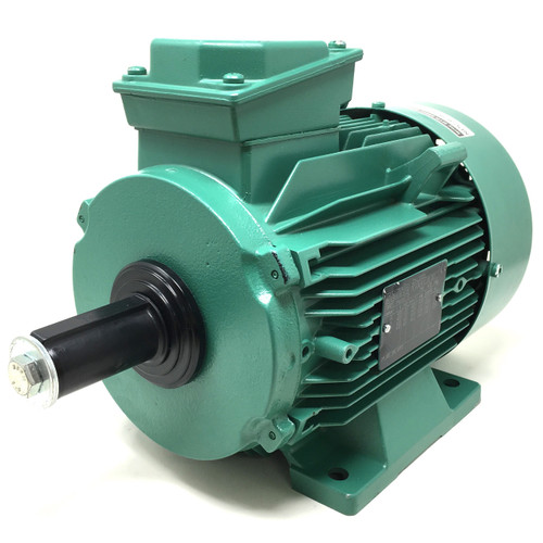 3Ph AC Motor LS100L Leroy-Somer Searle, 0.85kW, 400VAC, 8-Pole, 680/810rpm, B3 foot mount, 211-850-308-90PTO