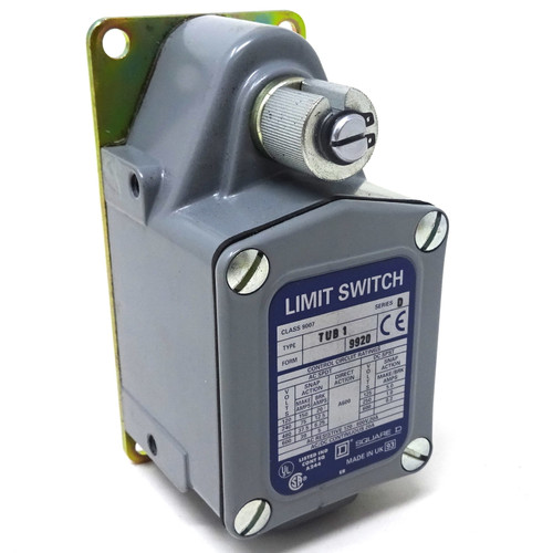 Heavy Duty Limit Switch 9007-TUB-1 Square D