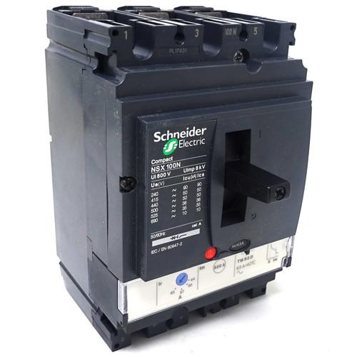 3P Circuit Breaker LV429842 Schneider 44/63A