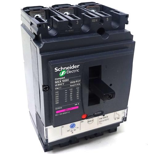 3P Circuit Breaker LV429670 Schneider 100A