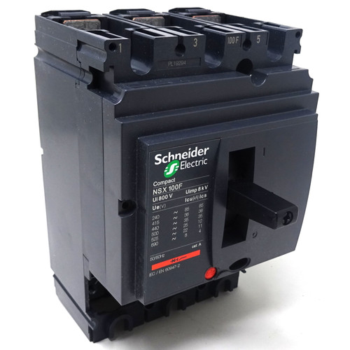 3P Circuit Breaker Frame LV429003 Schneider 100A