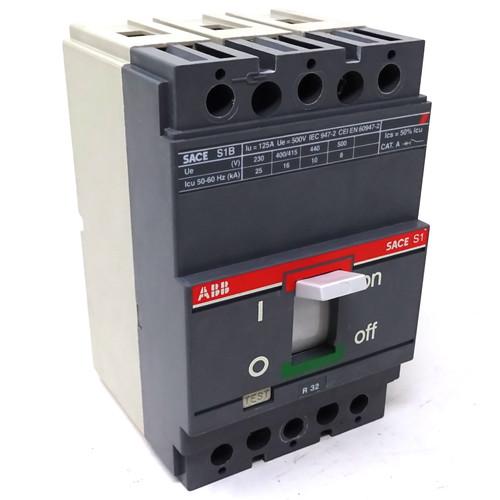 MCCB 1SDA000012R ABB SACE ISOMAX-S1B-125