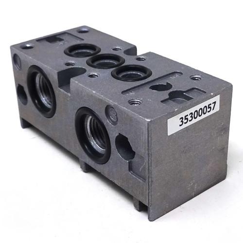 Sub Base 35300057 ASCO Numatics