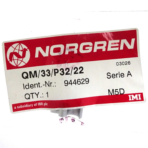 Reed Switch Bracket QM/33/P32/22 Norgren