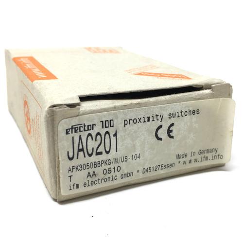Proximity Switch JAC201 ifm AFK3050BBPKG/M/US-104