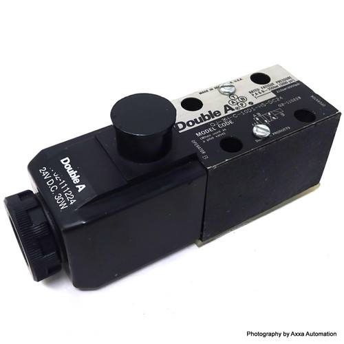 4/2 Directional Valve QJ-3H-C-10D1-HS-DC24 Double A *New*
