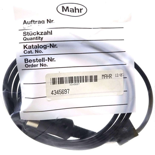 Connecting Cable 4345697 Mahr 1.2m