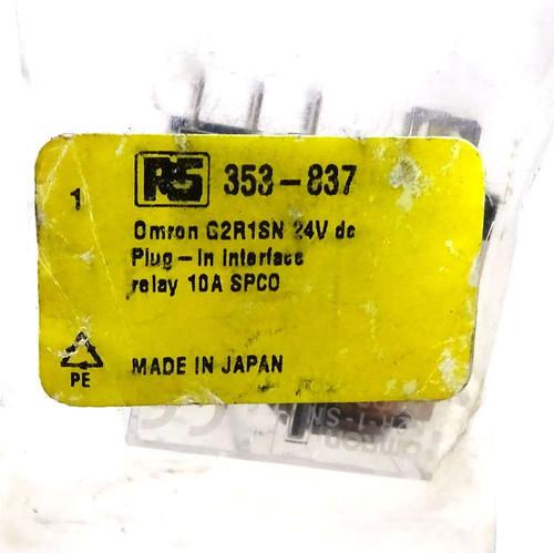 Non-Latching Relay G2R-1-SN-24VDC Omron 10A 353-837