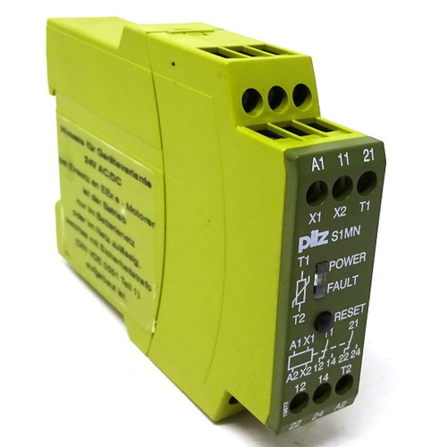 Safety Relay 839410 Pilz S1MN 110VAC 2c/o