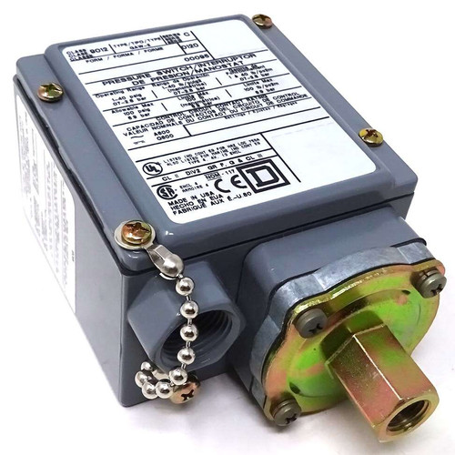 Pressure Switch 9012-GAW-2 Square D 0.7-2.8bar 1-40Psig