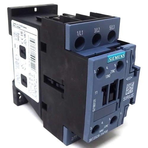 3P Contactor 3RT2028-1AP00 Siemens 18.5kW 230VAC 1NO 1NC