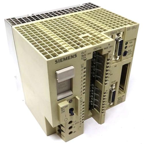 PLC Central Base Unit 6ES5095-8MC03 Siemens SIMATIC S5