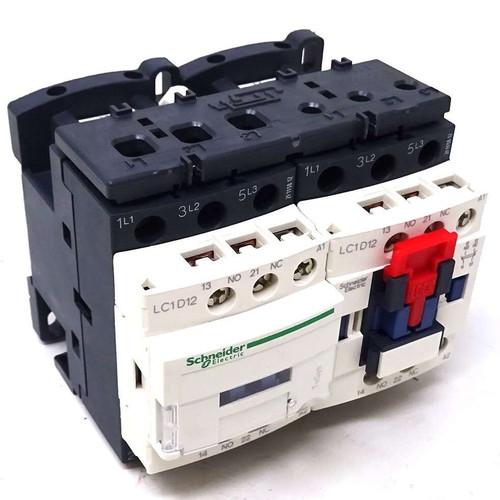 3P Reversing Contactor LC2D12F7 Schneider 110VAC 5.5kW 1NO 1NC 038578
