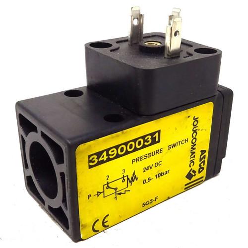 Pressure Switch 34900031 ASCO 0.5-10bar Joucomatic