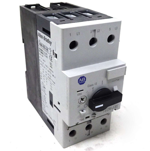 Motor Protection Circuit Breaker 140M-F8E-C45 Allen-Bradley MPCB 32-45A