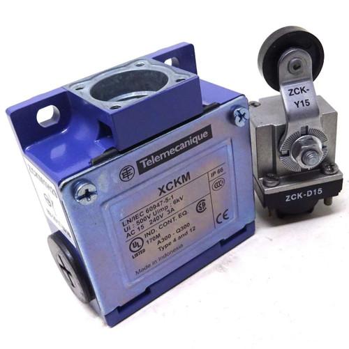 Limit Switch XCKM115H29 Telemecanique Snap Action Lever IP66 NO/NC