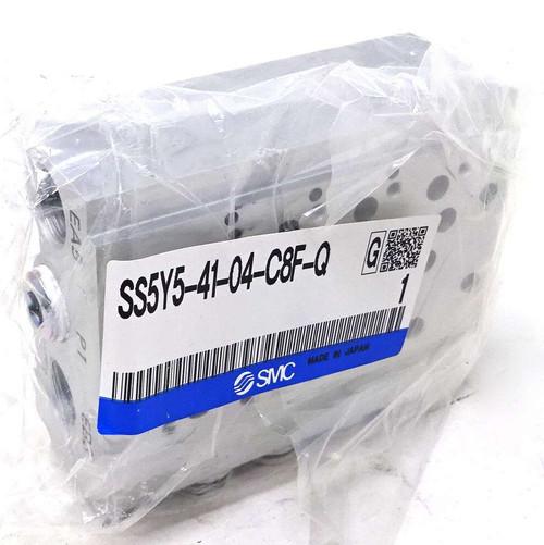 Manifold Bar SS5Y5-41-04-C8F-Q SMC 4 Stations