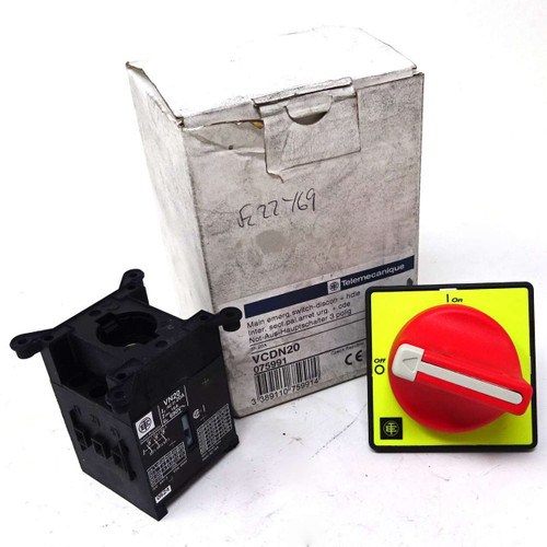 Main Emergency Switch Disconnector VCDN20 Telemecanique + Handle 075991