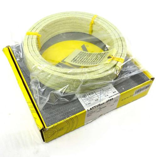 "Aramid Gland Packing 00100216 Latty 11mm 7/16"" 11m 36ft"