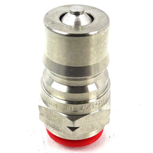"Quick Disconnect Coupling ML4KP26BS Hansen MALE 4HK TAR 1/2""G INOX 316L"