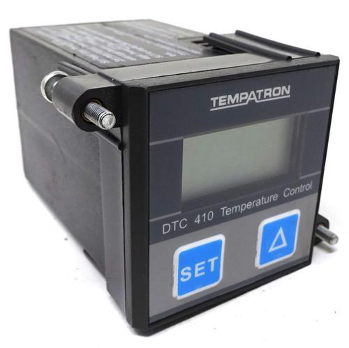 Temperature Controller DTC410-01 Tempatron 110VAC *Used*