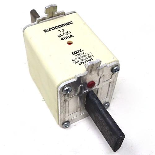 Industrial Fuse 67220400 Socomec 400A gL/gG NH2 *New*