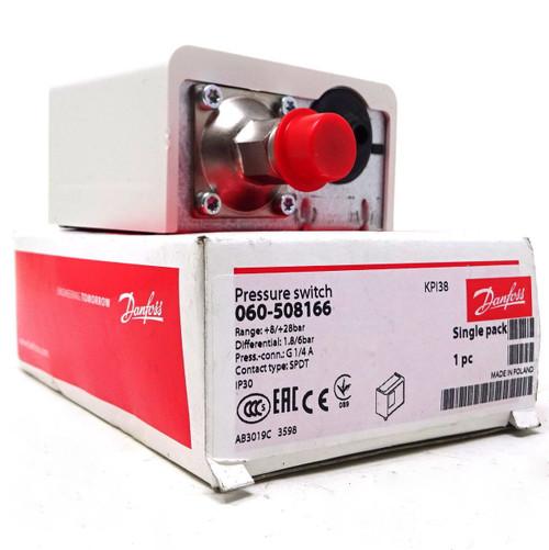 Pressure Switch 060-508166 Danfoss 8-28bar 1.8-6bar G1/4A SPDT
