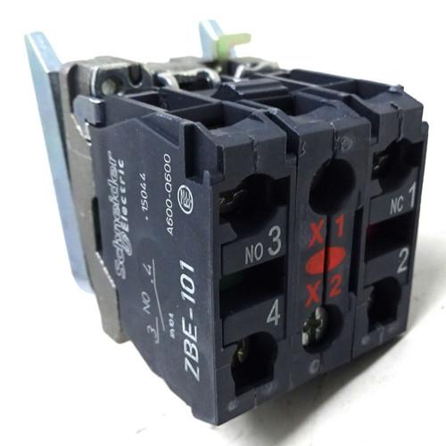 Contact & Light Block ZB4-BW0G45 Schneider Red 089339